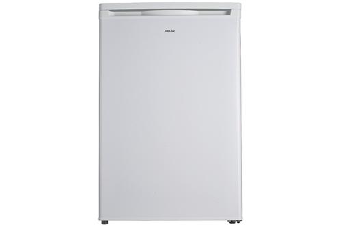 Volume 111 L - Dimensions HxLxP : 85x54.5x58.2 cm - A+ Réfrigérateur à froid statique 95 L Congélateur à froid statique 16 L Faible encombrement