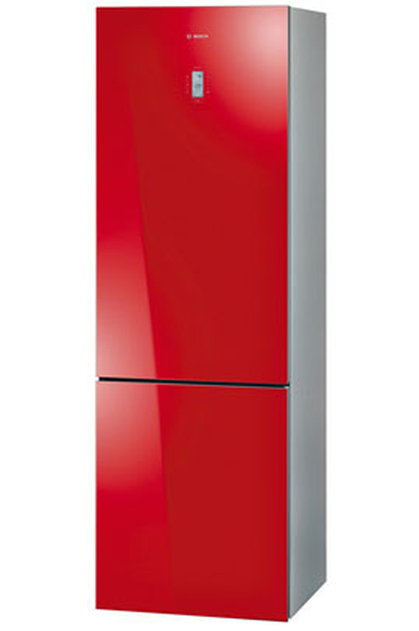refrigerateur congelateur en bas bosch kgn36s55 glassline. Black Bedroom Furniture Sets. Home Design Ideas