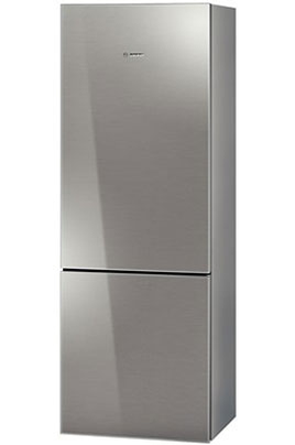 refrigerateur congelateur en bas bosch kgn49s70 glassline. Black Bedroom Furniture Sets. Home Design Ideas