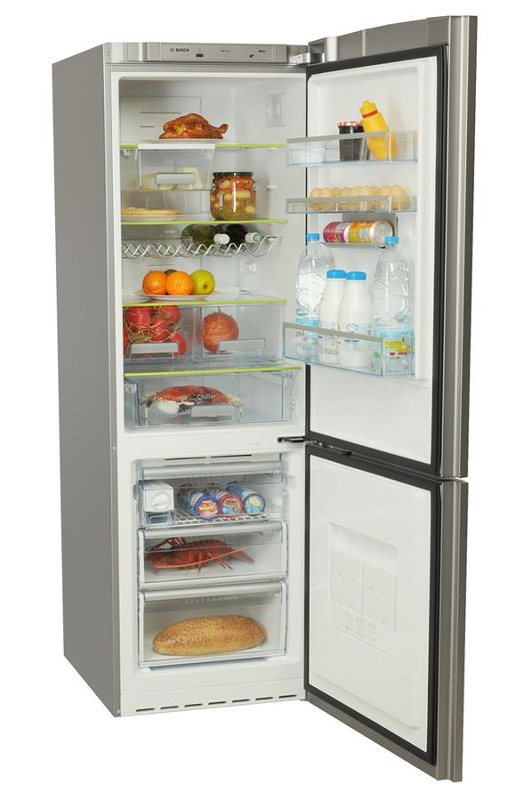 refrigerateur congelateur en bas bosch kgn 36s50 noir 1558714 darty. Black Bedroom Furniture Sets. Home Design Ideas