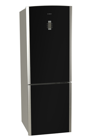 refrigerateur congelateur en bas bosch kgn 36s50 noir darty. Black Bedroom Furniture Sets. Home Design Ideas