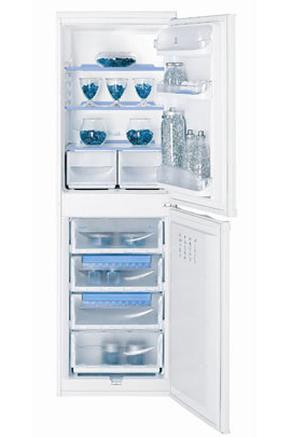 refrigerateur congelateur en bas indesit ca 55 blanc 2771098 darty. Black Bedroom Furniture Sets. Home Design Ideas