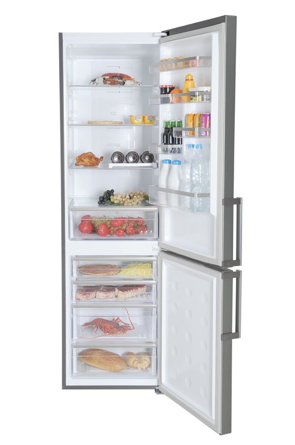 refrigerateur congelateur en bas samsung rl60ghgih inox. Black Bedroom Furniture Sets. Home Design Ideas