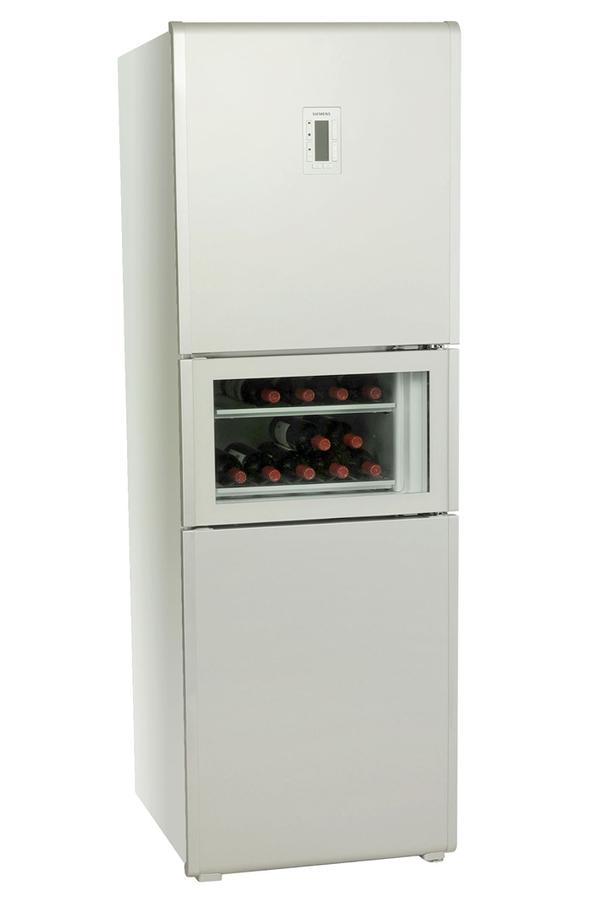 refrigerateur congelateur en bas siemens kg29we60 alu 2732505 darty. Black Bedroom Furniture Sets. Home Design Ideas