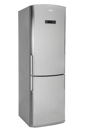 refrigerateur congelateur en bas whirlpool wbc3548a nfcx inox darty. Black Bedroom Furniture Sets. Home Design Ideas