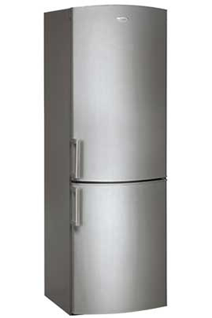refrigerateur congelateur en bas whirlpool wbe3352a nfcx darty. Black Bedroom Furniture Sets. Home Design Ideas
