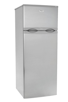 refrigerateur congelateur en haut whirlpool arc2353ix inox 3273857. Black Bedroom Furniture Sets. Home Design Ideas