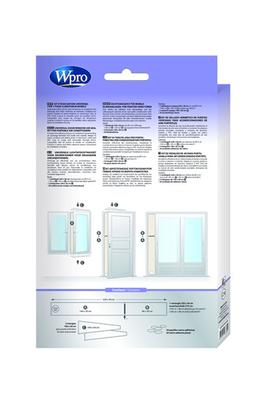 accessoire climatiseur ventilateur wpro kit fenetre 4020766. Black Bedroom Furniture Sets. Home Design Ideas