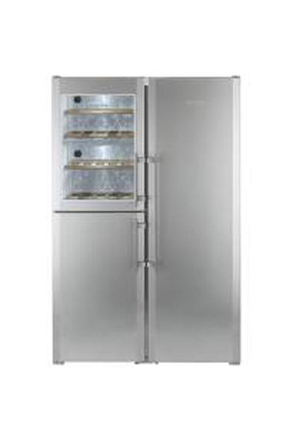 refrigerateur americain liebherr sbses 7165 3433692 darty. Black Bedroom Furniture Sets. Home Design Ideas