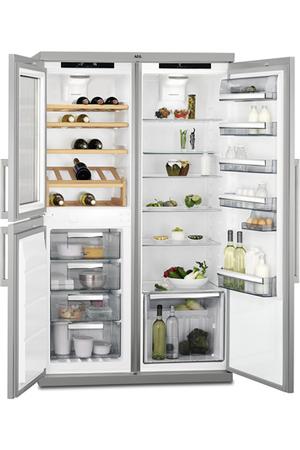 R frig rateur multi portes aeg rxe75911tm darty - Refrigerateur multi portes beko gne60520x ...
