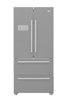Volume 539 L - Dimensions HxLxP : 182.5x84x74.5 cm - A+ Réfrigérateur à froid ventilé 387 L Congélateur à froid ventilé 152 L Eclairage LED