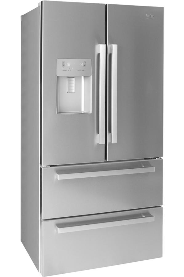 r frig rateur multi portes beko gne60532dx 4302885 darty. Black Bedroom Furniture Sets. Home Design Ideas