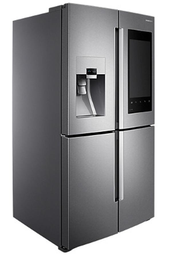 r frig rateur multi portes samsung rf56m9540sr ef family hub darty. Black Bedroom Furniture Sets. Home Design Ideas