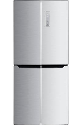 Volume 401 L - Dimensions HxLxP : 180x79x70 cm - A+ Réfrigérateur à froid ventilé (sans givre) 268 L Congélateur double porte à froid ventilé 133 L Contrôle électronique en façade