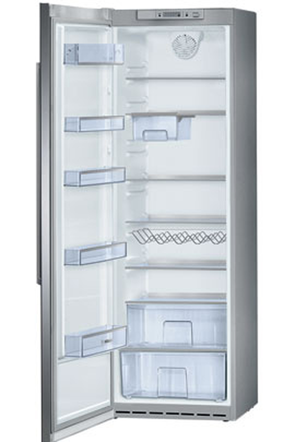 refrigerateur armoire bosch ksr38s70 inox verre 3357147 darty. Black Bedroom Furniture Sets. Home Design Ideas