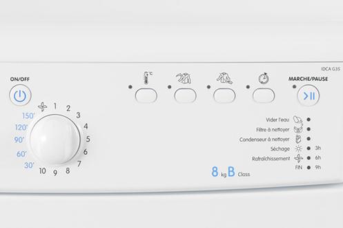 panne seche linge indesit idva 735 appareils m nagers pour la maison. Black Bedroom Furniture Sets. Home Design Ideas