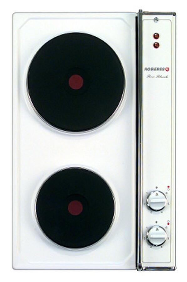 Plaque lectrique rosieres c 22 rb blanche c22rb 0928208 darty - Plaques electriques darty ...