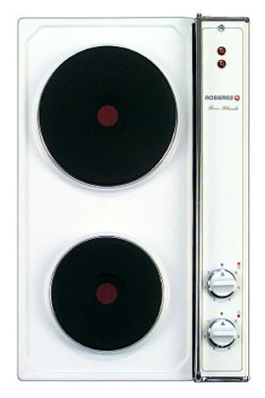 Plaque lectrique rosieres c 22 rb blanche c22rb darty - Plaque electrique darty ...