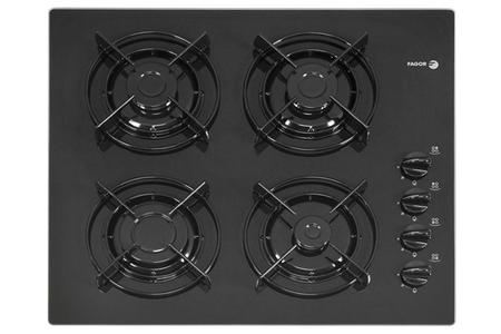 plaque gaz fagor 3cfie 4glsn noir 3cfie 4glsn darty. Black Bedroom Furniture Sets. Home Design Ideas