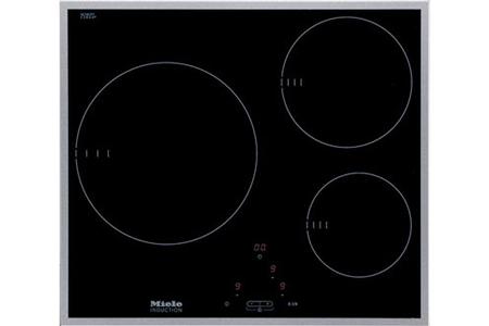 plaque induction miele km 6113 noir km 6113 darty. Black Bedroom Furniture Sets. Home Design Ideas