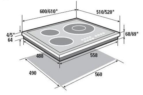 Plaque induction Sauter STI944B