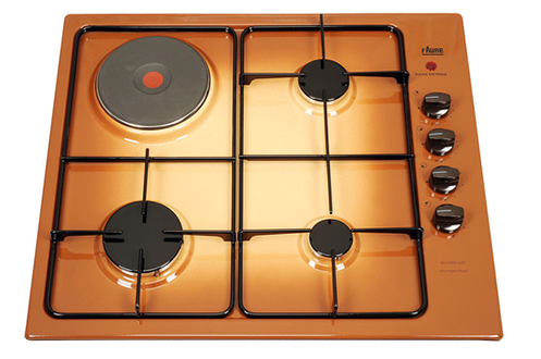 plaque mixte faure fxl63itt marron fxl63itt 2930552. Black Bedroom Furniture Sets. Home Design Ideas