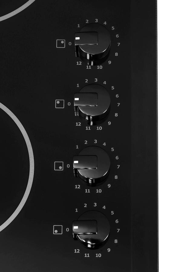 plaque vitroc ramique electrolux ehp60040p noir ehp60040p 3333140 darty. Black Bedroom Furniture Sets. Home Design Ideas