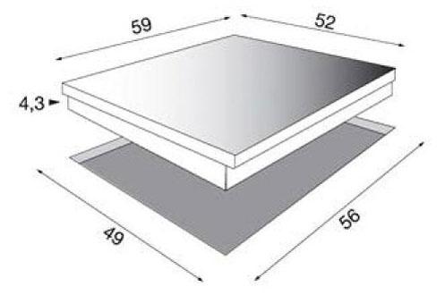 plaque vitroc ramique electrolux ehs60210p noir ehs60210p 3222322. Black Bedroom Furniture Sets. Home Design Ideas