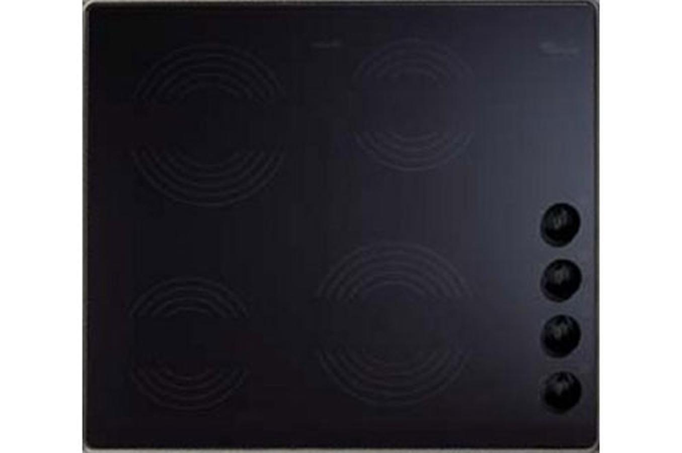 plaque vitroc ramique whirlpool akm613 ix 01 noir 3183416 darty. Black Bedroom Furniture Sets. Home Design Ideas