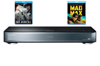 Lecteur Blu-ray DMP-UB900 + 2 BLU-RAY OFFERTS Panasonic
