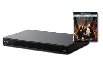 Lecteur Blu-ray UBP-X800B 4K + BLU-RAY INFERNO Sony
