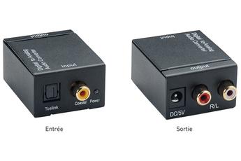 Adaptateur audio OPTIQUE COAXIAL / RCA Erard