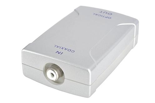 adaptateur audio plug it convertisseur coaxial optique ad900 1262106. Black Bedroom Furniture Sets. Home Design Ideas