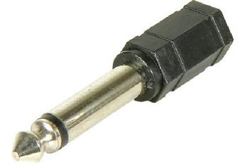 Adaptateur audio JACK 6,35 M/JACK 3,5 F Temium
