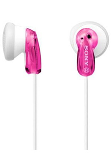 Ecouteurs MDR-E9 ROSE Sony