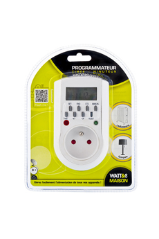 Alimentation électrique PROGRAMMATEUR DIGITAL WMP1 Watt&co