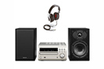 Denon D-M39 argent + casque Focal Spirit ONE noir photo 1