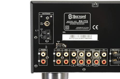 Sherwood RX-772 TITANE