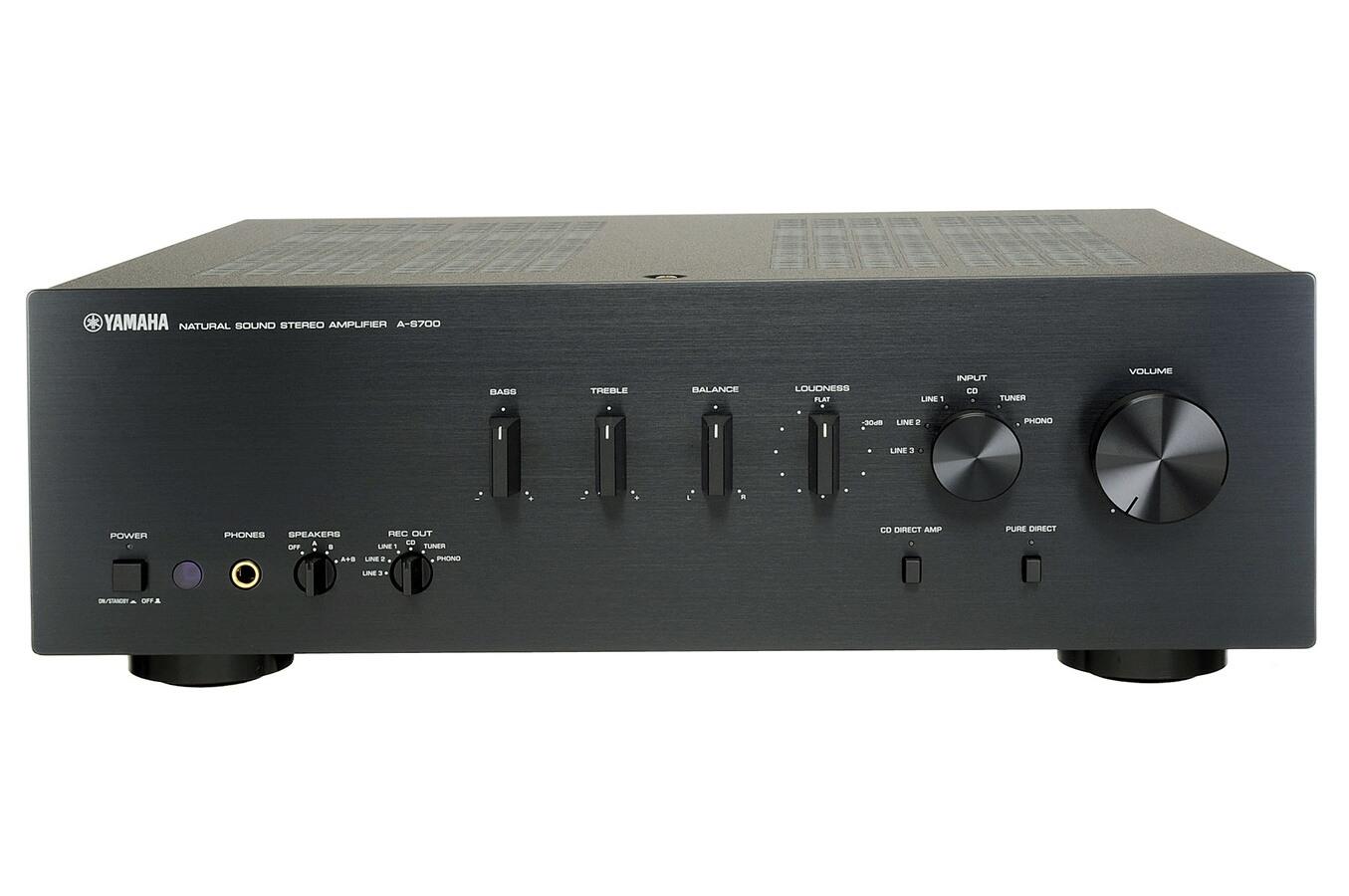 amplificateur yamaha a s700 noir as700 2783789 darty. Black Bedroom Furniture Sets. Home Design Ideas