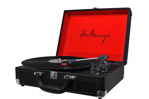 Platine disque Halterrego H.TURN BLACK&RED