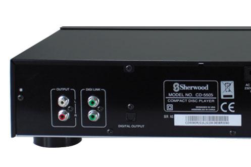 Sherwood CD-5505 NOIR