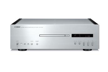 Lecteur CD Yamaha CD-S1000 Noir flancs noirs laqués - Compatible SACD, flanc en bois finition black