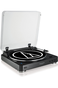 Platine disque ATLP60 BT BLACK Audio Technica