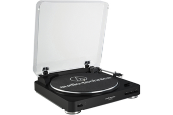 Platine disque AT-LP60 USB BLACK Audio Technica