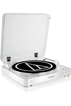 Platine disque AT-LP60 BT WHITE Audio Technica