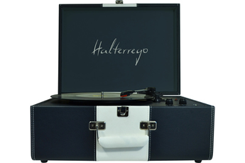 Platine disque HTURN DELUXE BLEU/BLANC Halterrego