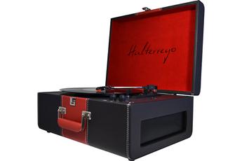 Platine disque HTURN DELUXE NOIR/ROUGE Halterrego