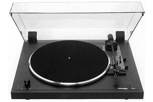 platine disque thorens td 170 1 noir td170 1 3161528 darty. Black Bedroom Furniture Sets. Home Design Ideas
