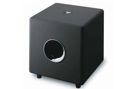 caisson de basses focal cub 3 jet black darty. Black Bedroom Furniture Sets. Home Design Ideas