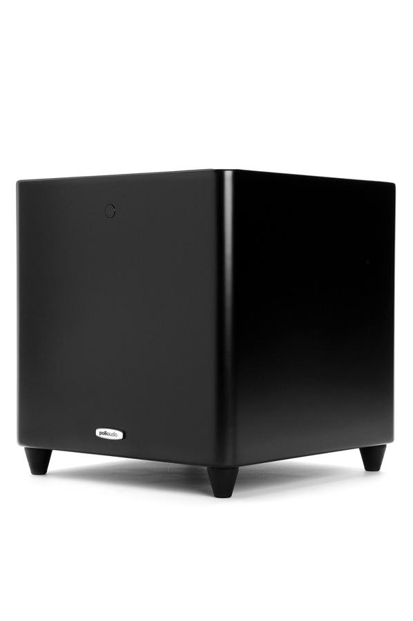 caisson de basses polk dsw660 wi black 4192311 darty. Black Bedroom Furniture Sets. Home Design Ideas